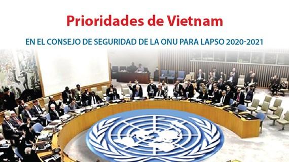 [Info] Prioridades de Vietnam en el Consejo de Seguridad de la ONU para lapso 2020-2021