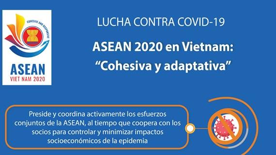 """[Info] ASEAN 2020 en Vietnam: """"Cohesiva y adaptativa"""""""