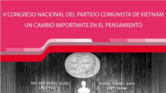 V Congreso Nacional del Partido Comunista de Vietnam: Un cambio importante en el pensamiento