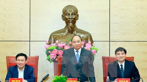 Premier vietnamita insta a Nghe An a impulsar crecimiento