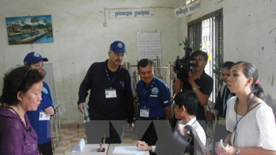 Camboya convocará elecciones generales para julio de 2018