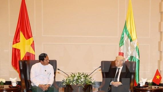 Enriquecen cooperación entre el PCV y partidos de Myanmar