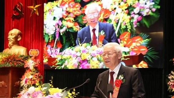 Máximo dirigente de Vietnam pide a la Academia Política elaborar estrategia del desarrollo