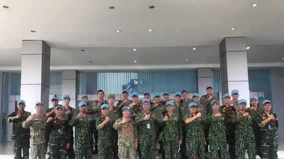 Participa Vietnam en ejercicios en Indonesia sobre mantenimiento de la paz