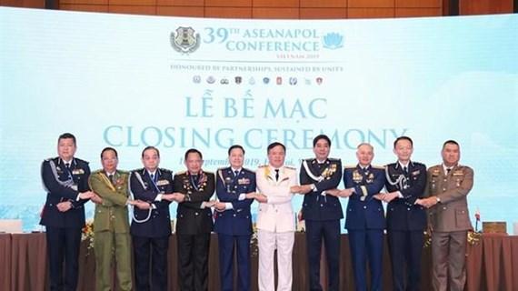 Clausuran en Hanoi Conferencia de Jefes de Policía de la ASEAN