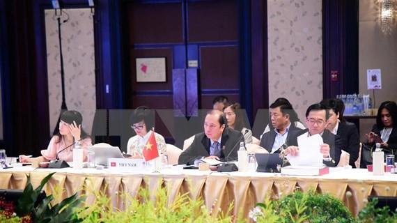 Participa Vietnam en reuniones preparatorias para la XXXV Cumbre de ASEAN