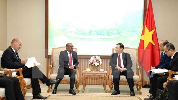 Vietnam se propone intensificar lazos multisectoriales con Sudáfrica y Nigeria