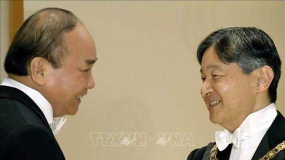 Concluye Premier de Vietnam viaje a Japón para coronación imperial