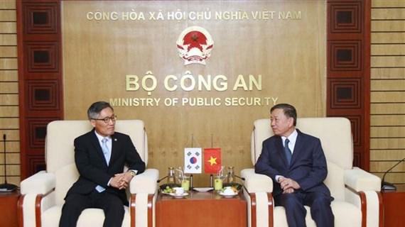 Afianzan Vietnam y Corea del Sur cooperación policial