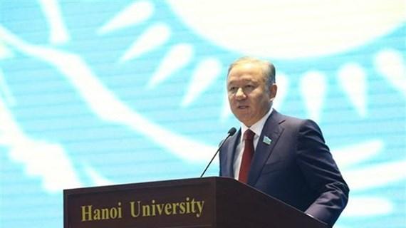 Concluye Presidente de Cámara Baja de Kazajstán su visita a Vietnam