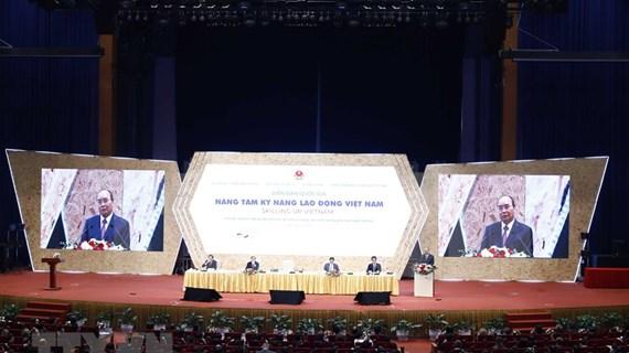 Celebran en Vietnam foro nacional sobre capacidad de fuerzas laborales