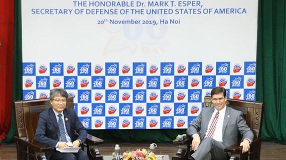 Secretario de Defensa de EE.UU. ratifica respaldo a papel de Vietnam en la región