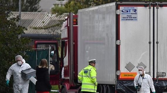 Aclara Vietnam información sobre apoyo financiero de Reino Unido para la repatriación de víctimas del camión