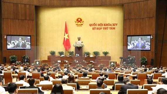 Continúa el Parlamento de Vietnam análisis de varios proyectos de leyes