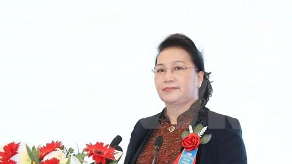 Apunta visita de presidenta de Asamblea Nacional de Vietnam a fortalecer lazos con Belarús