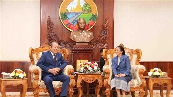 Viceprimer ministro de Vietnam realiza visita a Laos