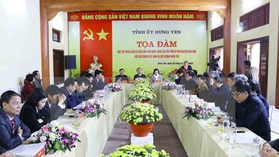 Destacan aportes del extinto secretario general Nguyen Van Linh con la revolución vietnamita