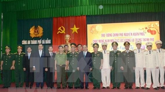 Visita premier de Vietnam a Da Nang en primer día del Año de la Rata