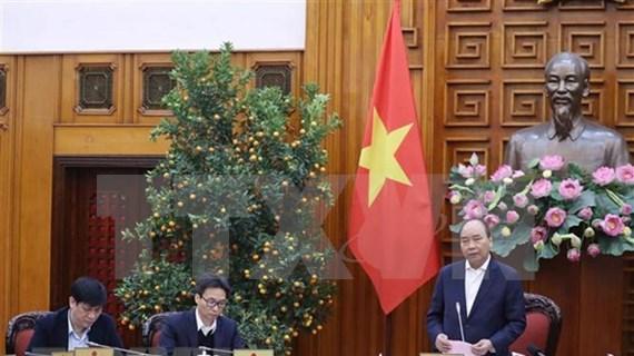 Llama premier de Vietnam a esfuerzos conjuntos contra epidemia por coronavirus
