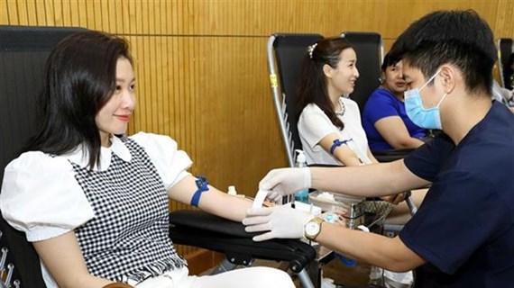 Promueve Vietnam campaña de donación de sangre en 2020