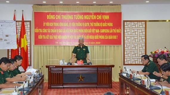 Vietnam prepara programa de Intercambio de Amistad de Defensa Fronteriza con Camboya