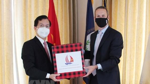 Vietnam intensifica nexos de cooperación con Estados Unidos