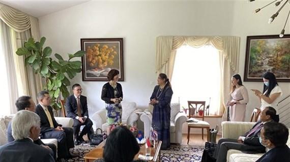Asume Vietnam presidencia del Comité de la ASEAN en Berna