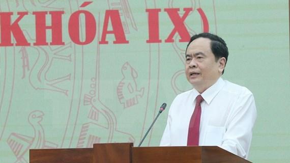Exhortan al Frente de la Patria de Vietnam a seguir consolidando la unidad nacional