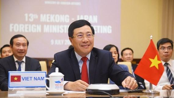 Países de Mekong y Japón refuerzan cooperación contra COVID- 19
