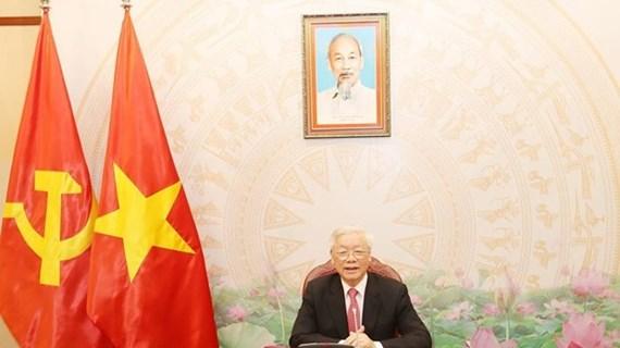 Máximos dirigentes de Vietnam y Camboya mantienen conversaciones telefónicas
