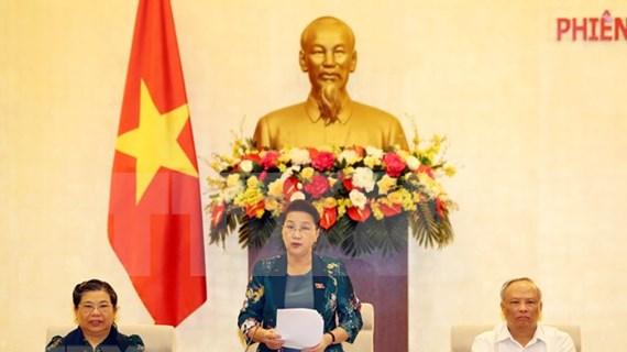 Comité Permanente del Parlamento de Vietnam inicia su 46 reunión