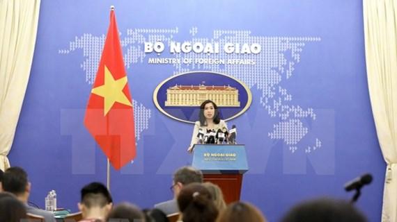 La paz, estabilidad, cooperación y desarrollo son aspiraciones y objetivos comunes de los países en el Mar del Este, dice portavoz