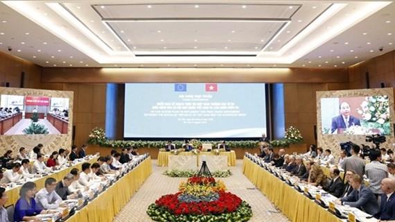 EVFTA, gran autopista que conecta a la UE con Vietnam, según el premier vietnamita