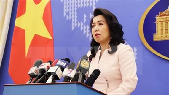 Todas las actividades en Hoang Sa, Truong Sa sin permiso de Vietnam son inválidas, dice portavoz