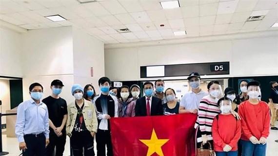 Retornan al país casi 350 ciudadanos vietnamitas desde Estados Unidos
