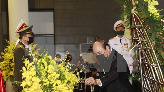 Dirigentes vietnamitas muestran condolencias por deceso del exmáximo dirigente partidista Le Kha Phieu