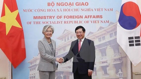 Vietnam y Corea del Sur fortalecen nexos de cooperación bilateral
