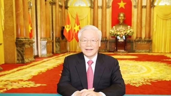 Máximo dirigente de Vietnam envía mensaje a la ONU por aniversario de su fundación