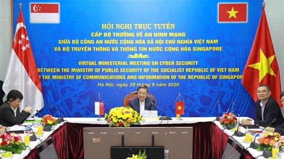 Vietnam y Singapur debaten cooperación en ciberseguridad