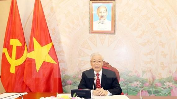 Máximo dirigente de Vietnam sostiene conversaciones con su homólogo de China