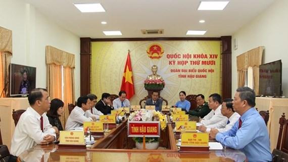 Parlamento de Vietnam concluye primera jornada de trabajo del X período de sesiones