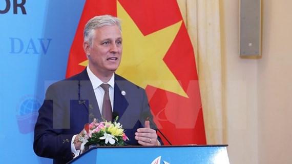 Estados Unidos espera promover la asociación integral con Vietnam, dice alto funcionario