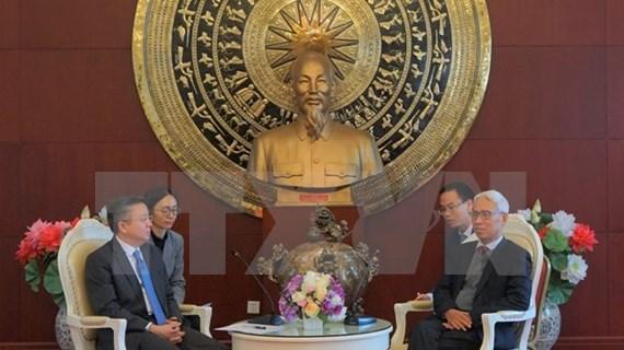 Fomentan cooperación económica-comercial entre localidades vietnamitas y chinas