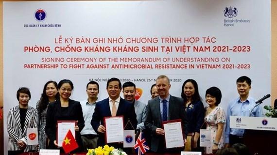 Reino Unido ayuda a Vietnam en lucha contra la farmacorresistencia
