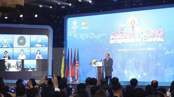 Ratifica Vietnam apoyo conexión de empresarios jóvenes de la ASEAN