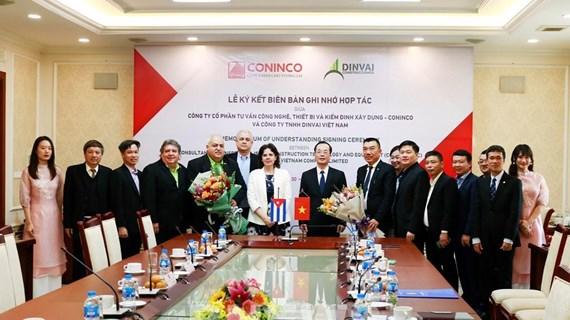 Vietnam y Cuba intensifican cooperación en sector de construcción