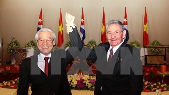 Felicita Vietnam a Cuba por aniversario de relaciones diplomáticas bilaterales