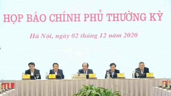 Situación de COVID-19 acapara rueda de prensa tras reunión de gobierno de Vietnam