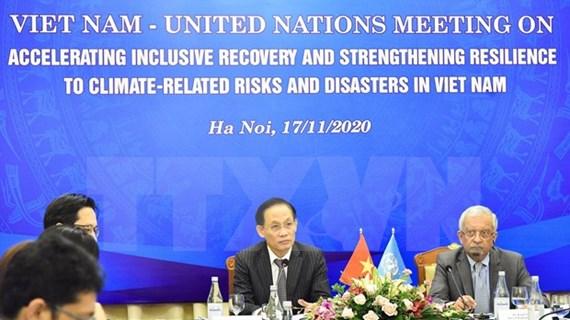 Aceleran elaboración de marco de cooperación Vietnam-ONU para 2022-2026