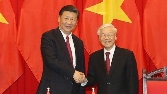 Vietnam y China intercambian mensajes de felicitación por aniversario de nexos diplomáticos